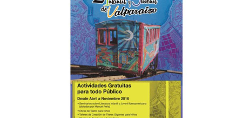 Con actividades abiertas a la comunidad se realizará 2ºfestival de literatura infantil y juvenil de Valparaíso