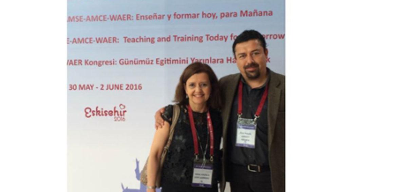 Profesores de la Escuela de Pedagogía participan en importantes encuentros nacionales e internacionales