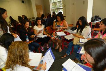Estudiantes, ex alumnos y profesores participan en Taller de lectura y escritura organizado desde Escuela de Pedagogía