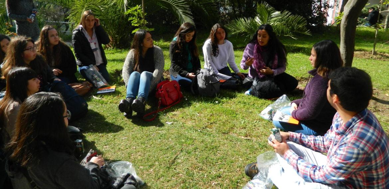 Cerca de 100 estudiantes de cuarto medio interesados en estudiar Pedagogía visitaron nuestras aulas