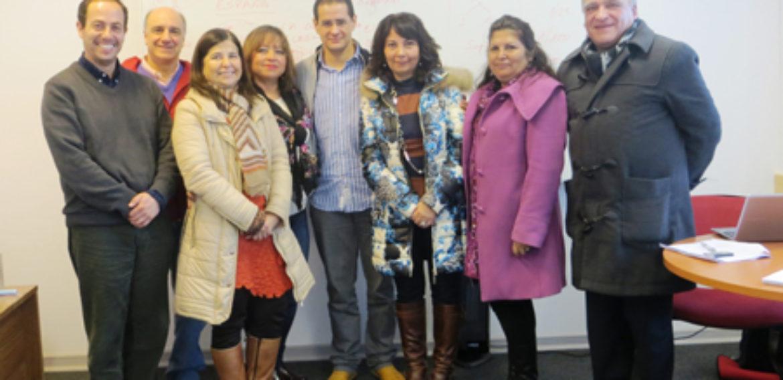 Profesor de la Universidad de Granada compartió con directivos que cursan Diplomado en Liderazgo Escolar