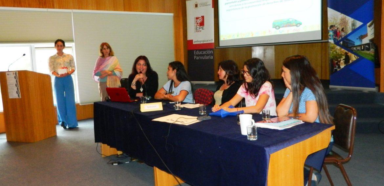 Carrera de Educación Parvularia realizó encuentros con mentoras, ex alumnas y estudiantes