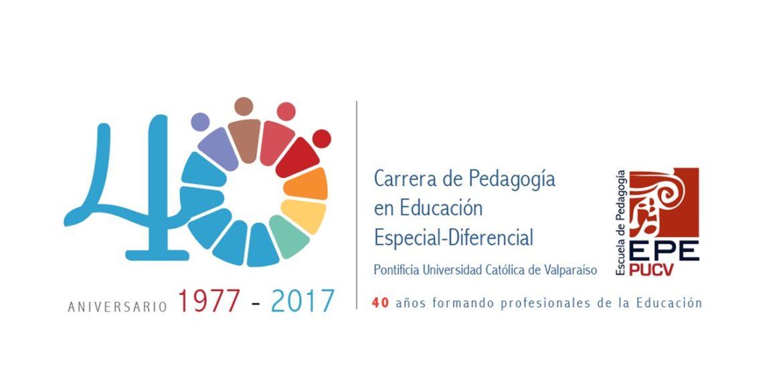 Carrera de Educación Especial-Diferencial inicia celebración de sus 40 años estrenando logo conmemorativo
