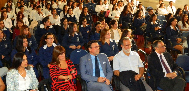 Más de 200 estudiantes de Pedagogía viven ceremonia de Investidura de Práctica Docente Inicial