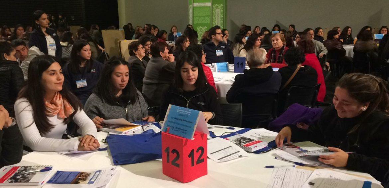 Delegación de Educación Parvularia PUCV participó en Cuenta Pública de JUNJI