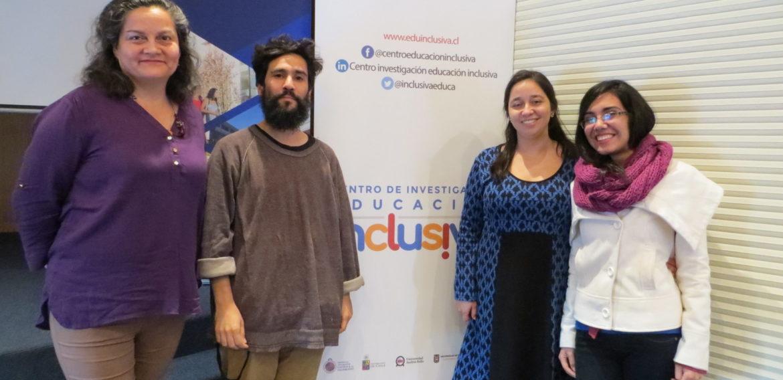 Equipo de la Escuela de Pedagogía realizó seminario en el marco de su trabajo en el Centro de Investigación para la Educación Inclusiva