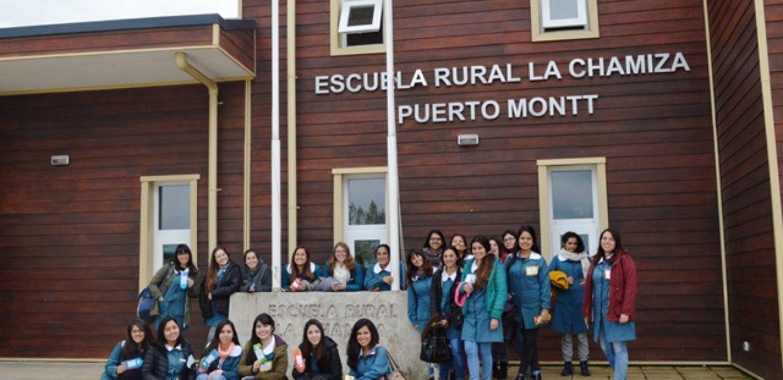 Estudiantes de Educación Especial-Diferencial visitan establecimientos Región de Los Lagos en gira de estudios