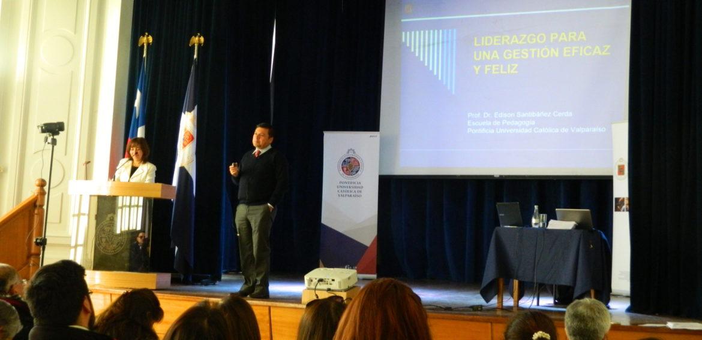 Profesores de la Región de Valparaíso participan en III Jornada Regional Neurociencia y Educación