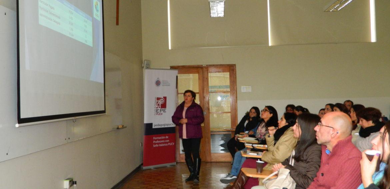Magíster en Liderazgo realizó charla sobre el perfil de director que necesitan las  escuelas de Valparaíso