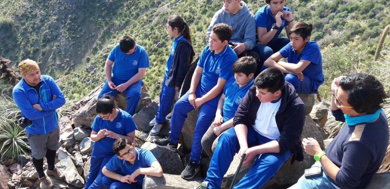 """Equipo de Feria Científica """"Haciendo ciencia voy creciendo"""" visita escuelas en Los Andes y San Felipe en el marco de realización de cápsulas audiovisuales"""