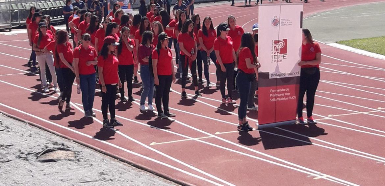 Alumnas de Educación Especial participan como voluntarias en Olimpiadas Especiales