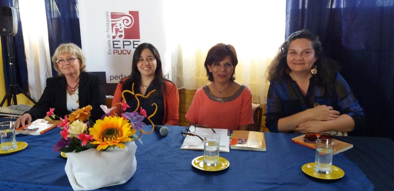 Realizan lanzamiento de libro de docentes de la Escuela de Pedagogía en el Colegio Dr. Oscar Marín Socias de Forestal