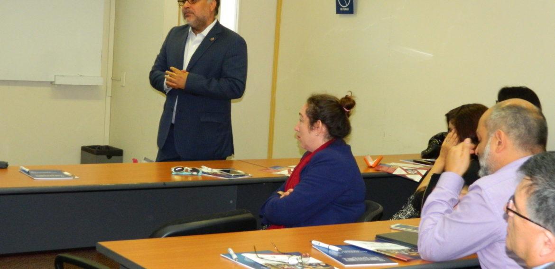 Realizan Encuentro Académico de Profesores del Magíster en Liderazgo y Gestión en Organizaciones Escolares
