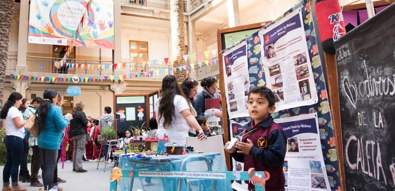 Niños y niñas de Chile y el extranjero dieron vida a Feria de Ciencia y Tecnología en la PUCV