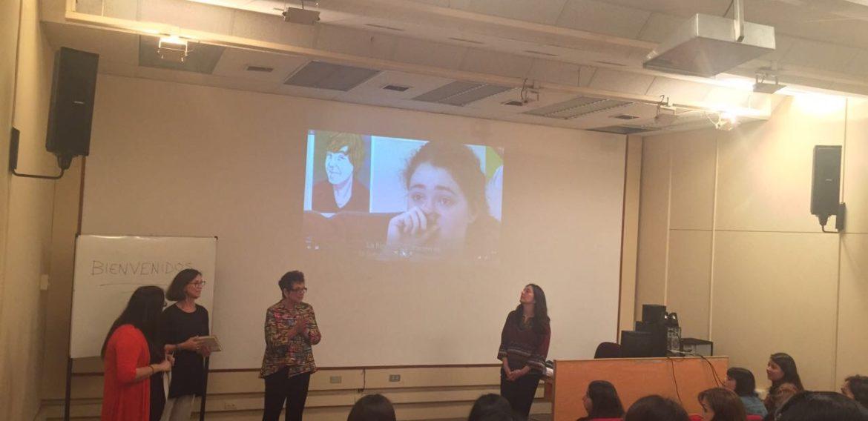 """Directora del Magister en Educación presentó documental """"Twice Exceptional en el marco de investigación"""
