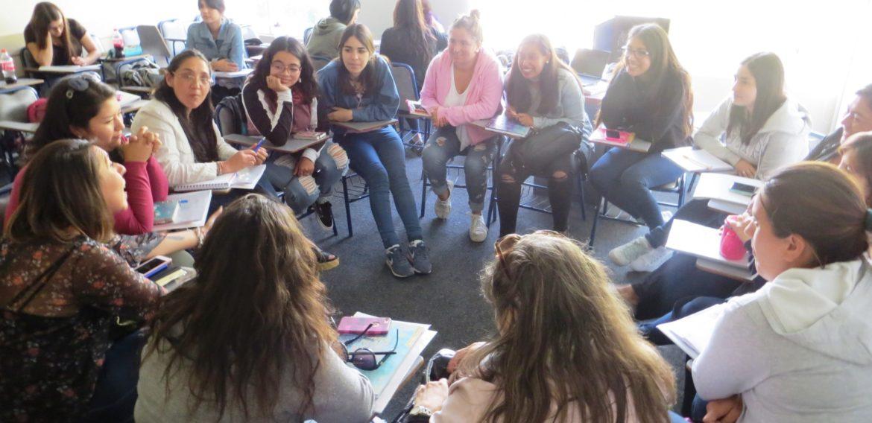 Carrera de Educación Parvularia realizó encuentro de triada formativa