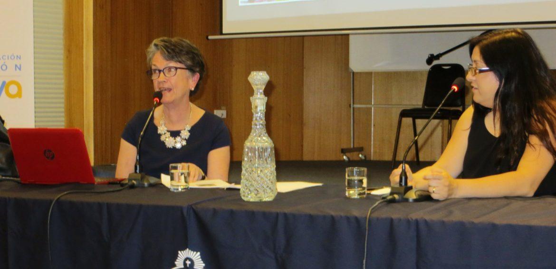 Con la presencia de la invitada internacional Cathy Amanti se inauguraron Programas de Estudios Avanzados de la Escuela de Pedagogía