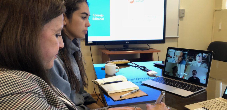 Revista Perspectiva Educacional realizó  Consejo Editorial online