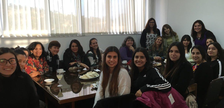 Comité de Pares Evaluadores visitó la carrera de Educación Parvularia en el marco de la acreditación