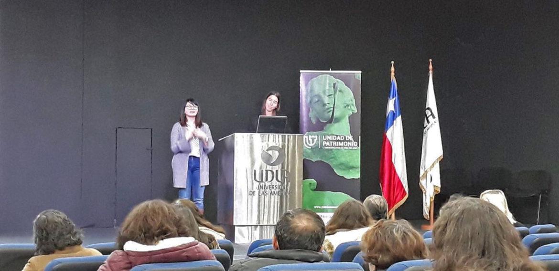 Profesora de la Escuela de Pedagogía participa en XI Jornadas de Patrimonio de Viña del Mar