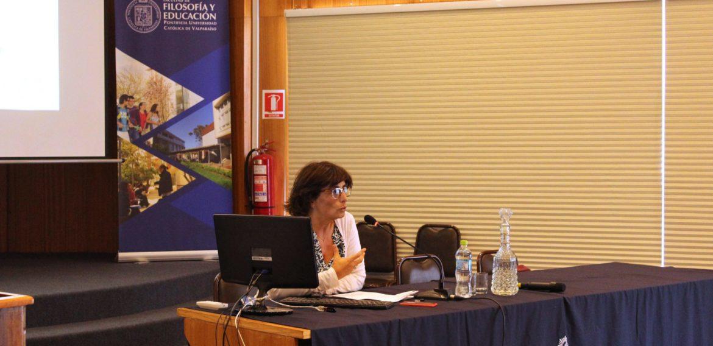 Seminario sobre formación de lectores contó con la presencia de Ana María Margallo de la Universidad Autónoma de Barcelona