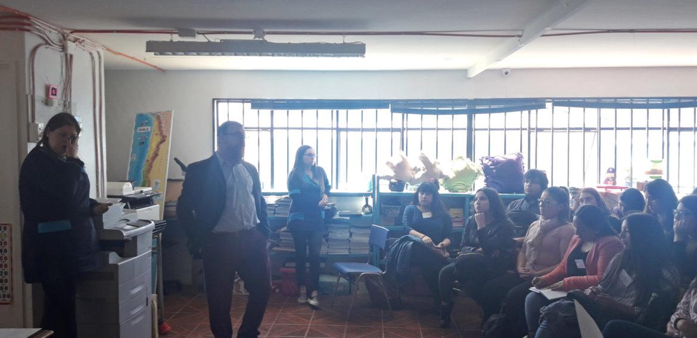 Estudiantes de la carrera de Educación Básica comienzan actividades prácticas en Colegio Nazareo de Viña del Mar