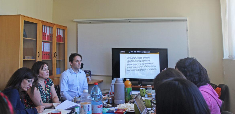 Docentes de la Escuela de Pedagogía PUCV se reúnen con experto en Alta Capacidad en el marco de proyecto Fondecyt Regular