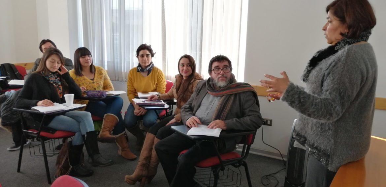 Profesor de Curacautín que cursa posgrado en UC de Temuco realizó pasantía en el Magíster en Liderazgo de la PUCV