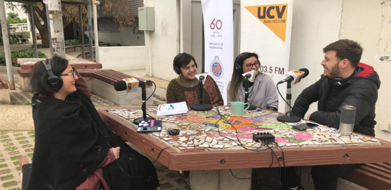 Escuela de Pedagogía finaliza exitoso ciclo de programas junto a Radio UCV.