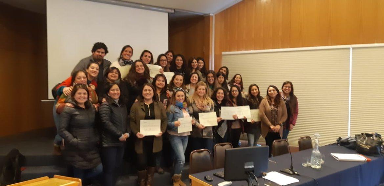 Mentoras de Educación Parvularia se capacitan en torno a las bases curriculares 2018