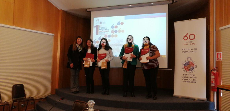 Exitoso primer seminario de práctica de la carrera de Educación Básica PUCV