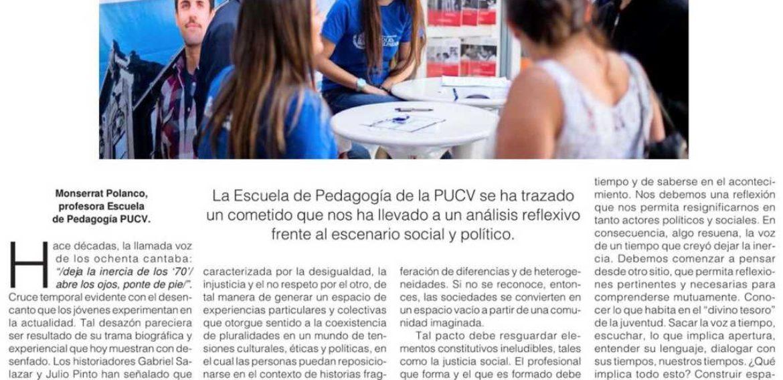 Columna de Opinión: HACIA UN NUEVO PACTO SOCIAL EDUCATIVO