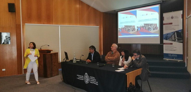 Magíster en Liderazgo y Gestión en Organizaciones Escolares inició versión 2020 en la Región de Valparaíso