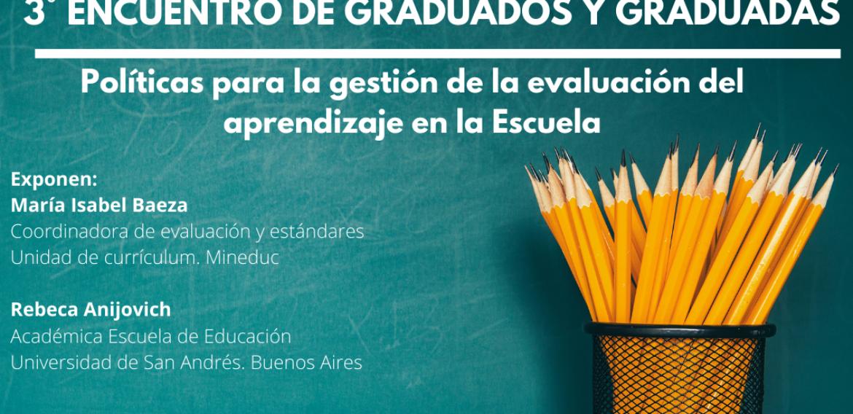 Invitan a Tercer Encuentro de Graduados (as) del Magíster en Liderazgo y Gestión en Organizaciones Escolares