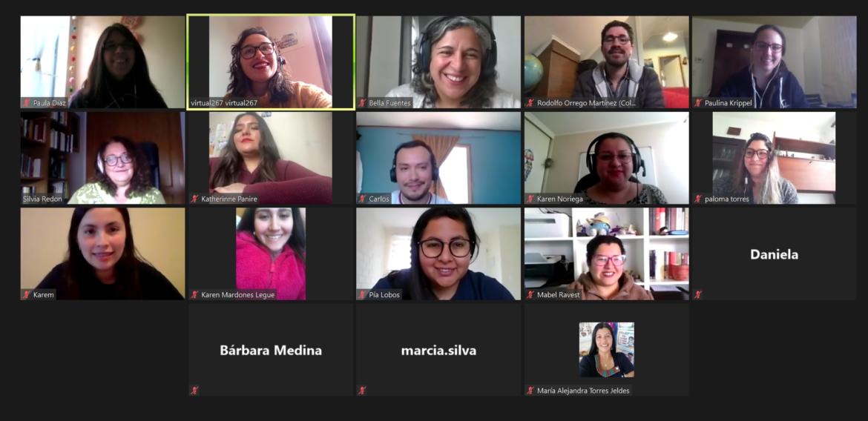Magíster en Educación realizó charla virtual para promover el programa