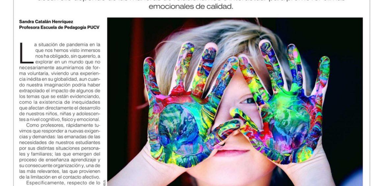 Opinión: Atender las emociones de estudiantes y profesores: un desafío para la escuela de hoy