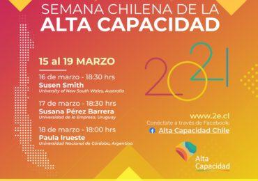 """Invitan a participar de la """"Primera semana chilena de sensibilización en Alta Capacidad"""""""