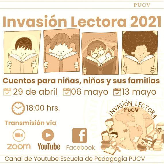 """A fines de abril parte séptima versión de la """"Invasión Lectora"""""""