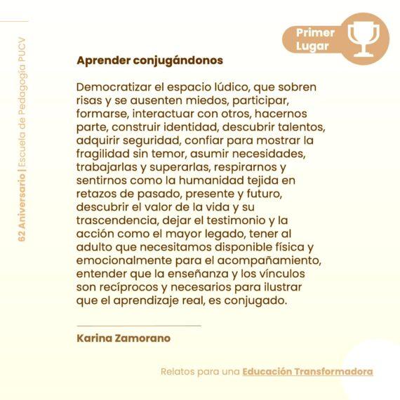 """Resultados concurso """"Relatos para una Educación Transformadora"""""""