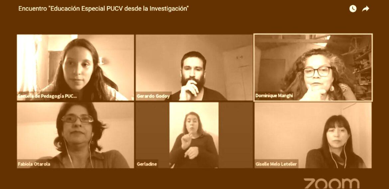 Educación Especial PUCV inicia encuentros de investigación abordando la Inclusión